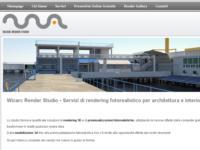 Online il nuovo sito Wizarc Render Studio, servizi di rendering 3D fotorealistici