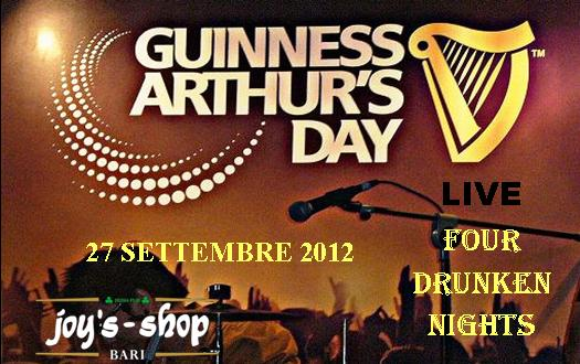 ARTHUR GUINNESS DAY 2012 @ JOY'S PUB