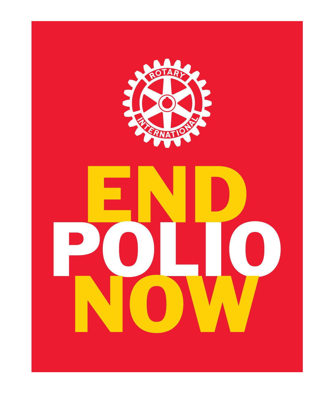 «End Polio Now»
