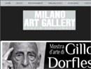 MARTEDÌ 31 LUGLIO 2012 GRANDE SUCCESSO DI GILLO DORFLES ALLA MILANO ART GALLERY