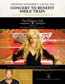 Beverly Hills, la pianista delle Stelle, Oksana, impegnata in un concerto di beneficenza per Smile Train