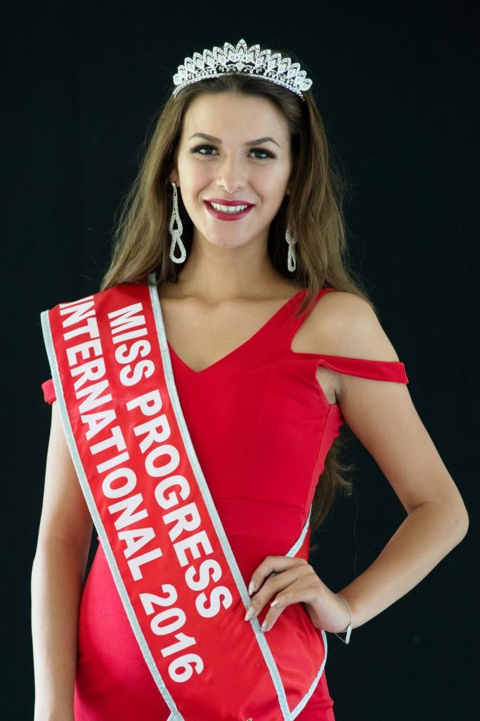 The Dutch Natascha Fischer is Miss Progress International 2016