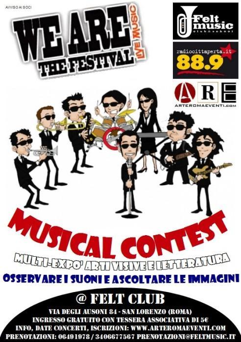 FINALE WE A.R.E. THE FESTIVAL (Musica Originale)