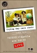 Dalla Svezia i Crying Day Care Choir live a Vallo della Lucania (SA) venerdì 15 aprile