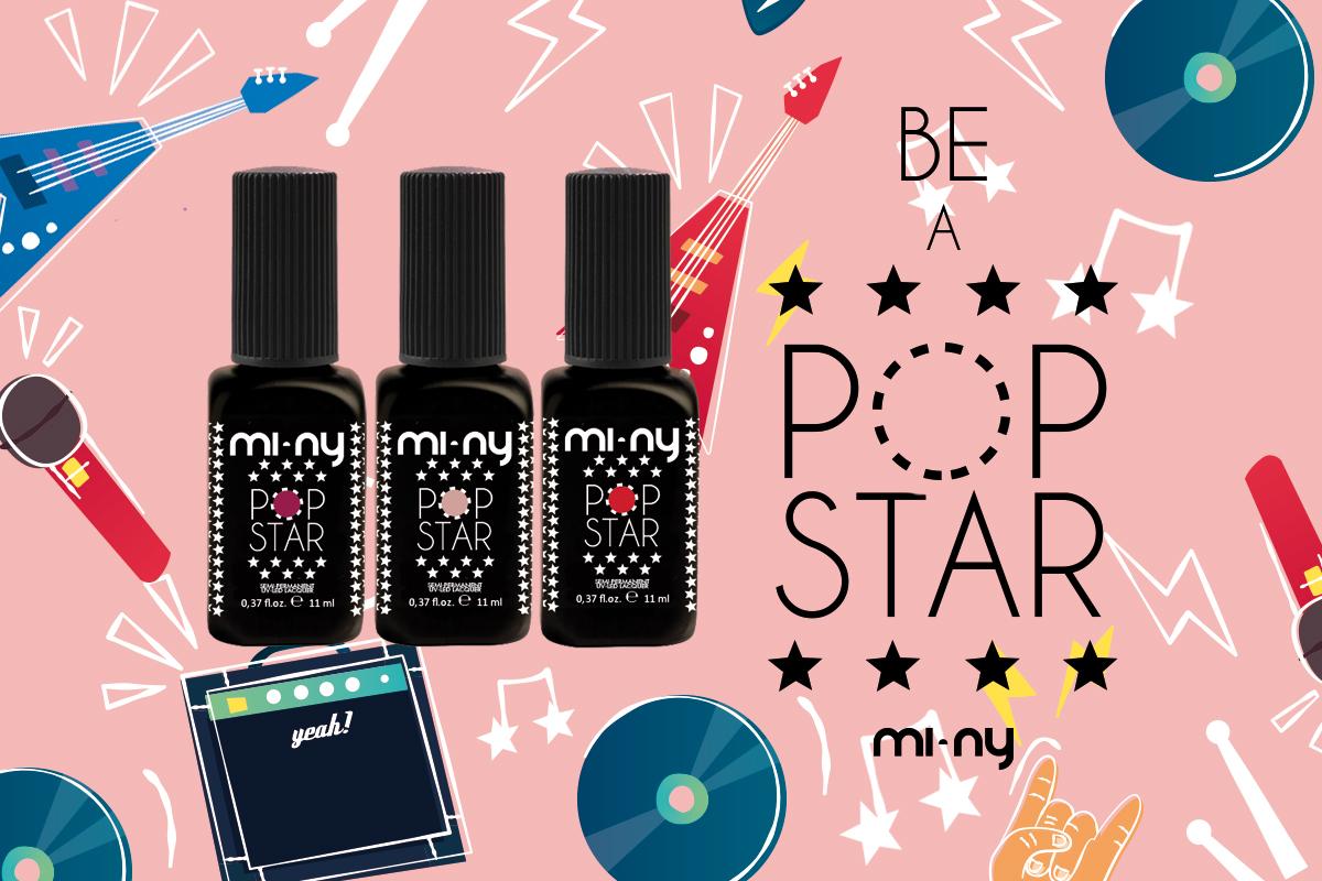 MI-NY PENSA ALL'ESTATE CON LA NUOVA COLLEZIONE DI SMALTI SEMIPERMANENTI POP STAR!