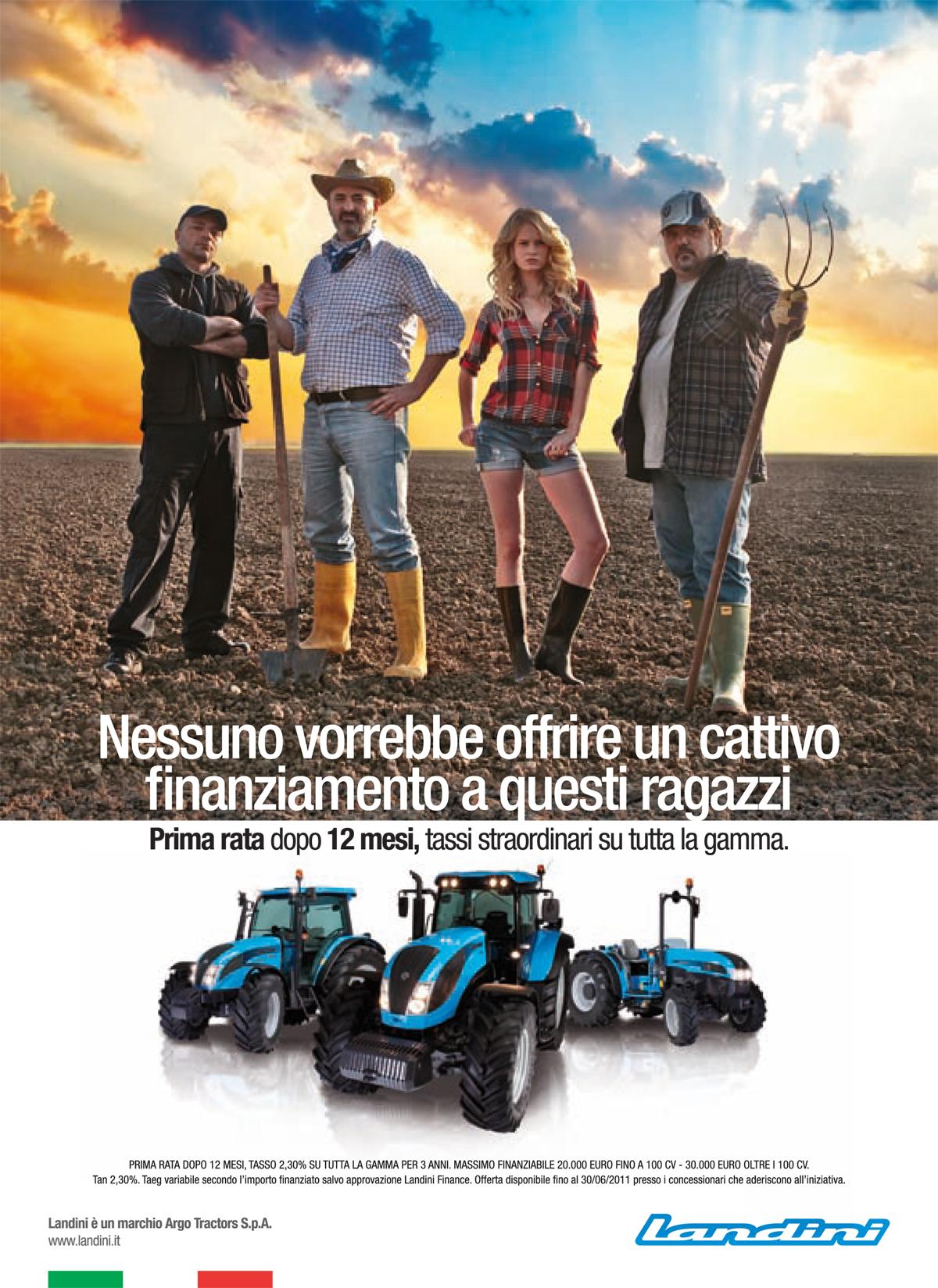 Landini e McCormick, campagna 2011 affidata a Arscolor Interactive e Qubic Communications