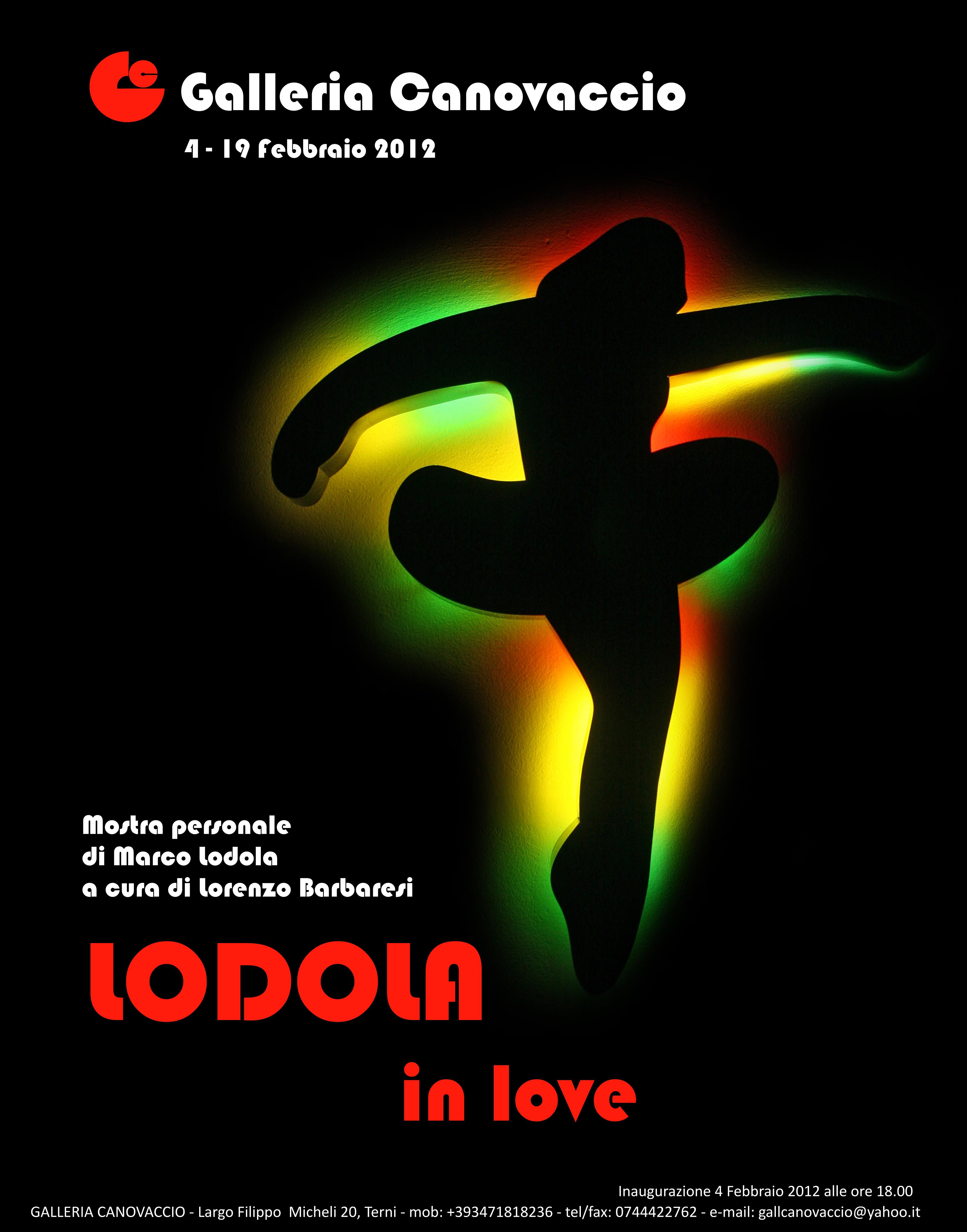 """MARCO LODOLA - Personale d' arte contemporanea - """"LODOLA IN LOVE"""""""