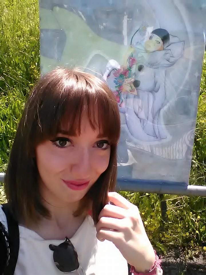 L'artista Chiara Stabile espone a Battipaglia in Autori al Centro dal 26 al 27 Agosto 2016