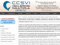 Ricercatori Americani e Italiani criticano lo studio di Padova sulla CCSVI