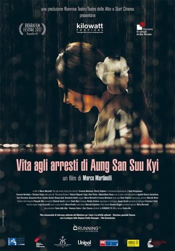 Il film 'Vita agli arresti di Aung San Suu Kyi' a VENEZIA BIENNALE CINEMA e a SARZANA, FESTIVAL DELLA MENTE
