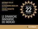 22 febbraio 2017: le dinamiche innovative dei mercati al centro dell'evento Icat ComMeet