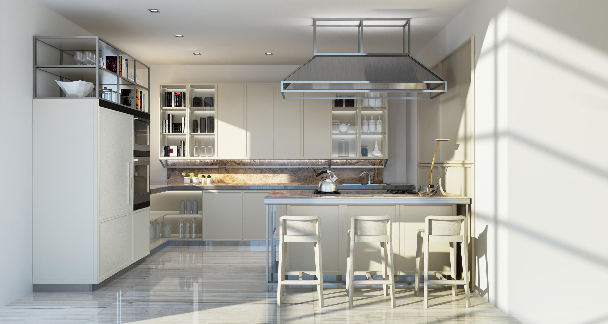 Snaidero scelta per arredare le cucine della torre for Industria italiana arredi