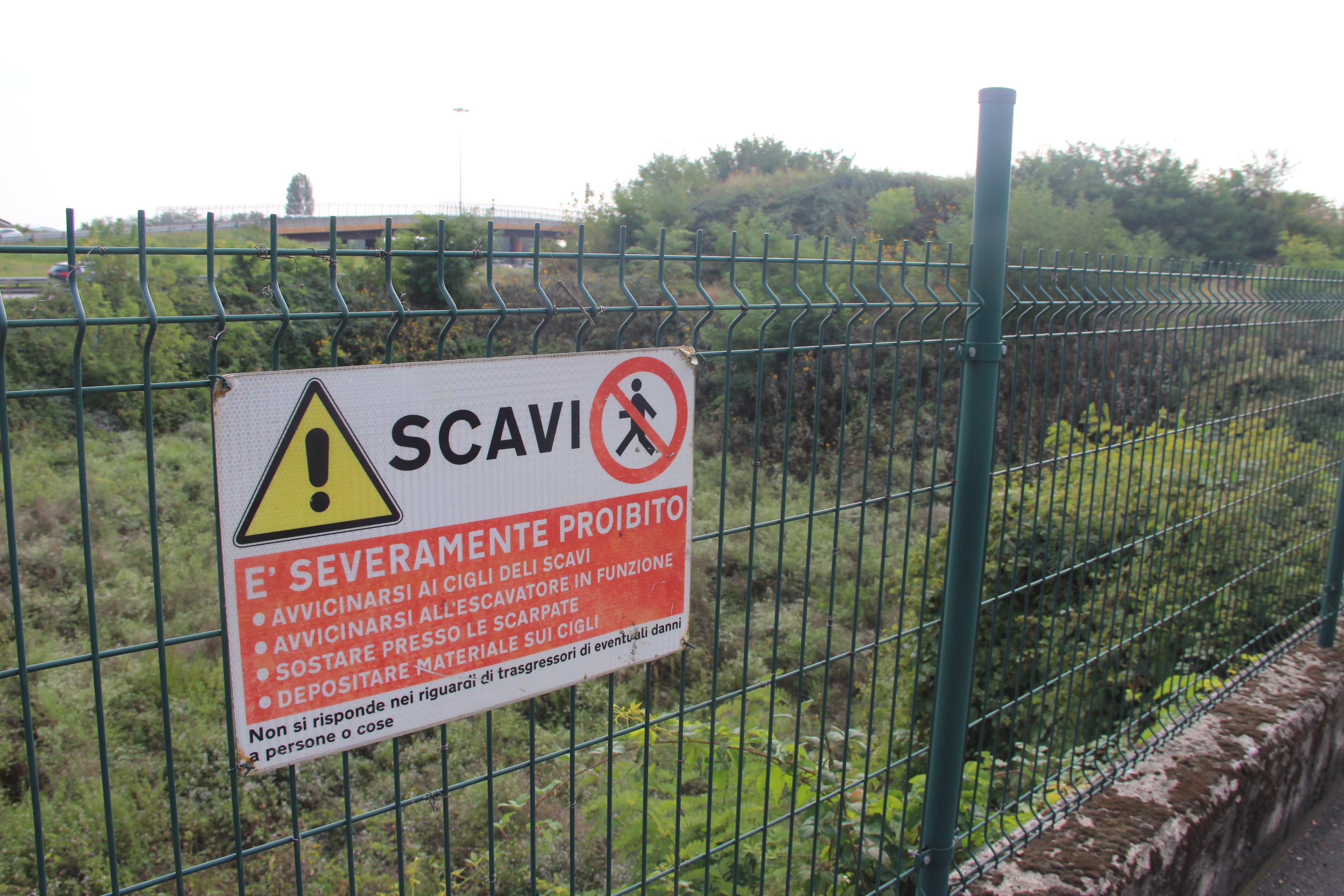 Ex cava di via Cellini, raggiunto l'accordo: Anas provvederà alla bonifica e cederà il terreno per completare via Sacconi
