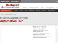 http://www.rockwellautomation.com/global/events/automation-fair/overview.page