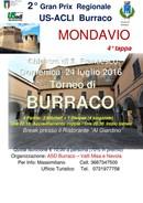 Il Gran prix regionale di burraco dell'U.S. Acli Marche alla quarta tappa Domenica 24 luglio appuntamento a Mondavio