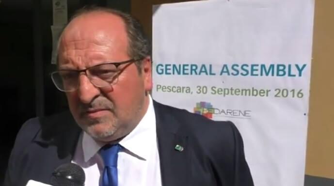 Fedarene: il Sottosegretario d'Abruzzo Mazzocca eletto Vice Presidente