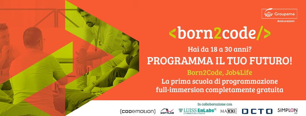 """Ultimi giorni per candidarsi a """"Born2Code"""", di Groupama Assicurazioni: l'Academy gratuita di Coding per giovani talenti tra i 18 e i 30 anni"""