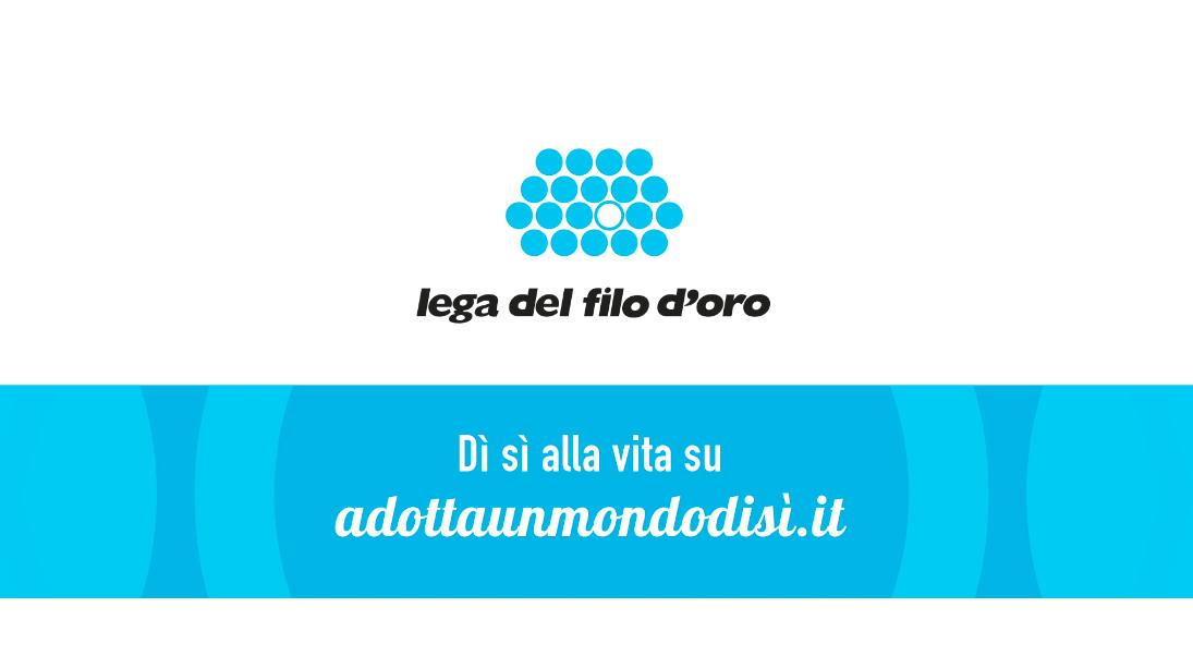 La nuova campagna della Lega del Filo d'Oro ha la musica di Fabrizio Bondi