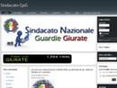 Il Sindacato Nazionale Guardie Giurate incontrerà domani 29 aprile l'onorevole Pizzolante