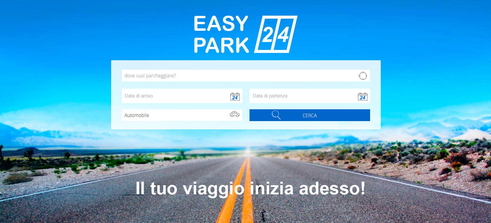 Easypark24 il nuovo portale per parcheggiare dove vuoi!
