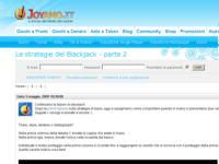 Joyamo.it svela la Strategia di Base del Blackjack Online