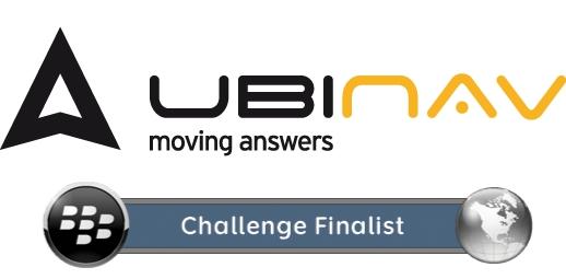 UbiNav, il navigatore gps per BlackBerry dell'italiana UbiEst, selezionato tra le 3 migliori applicazioni in area EMEA.