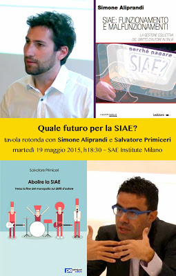 Milano: quali riforme per la SIAE? Se ne parla in un convegno