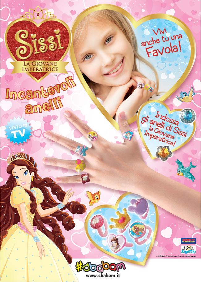 Diventa una vera principessa con gli Anelli Sissi