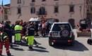 Sisma centro Italia. Colonna Mobile Protezione Civile Abruzzo all'opera
