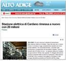 Terna, guidata da Flavio Cattaneo, conclude le attività di ammodernamento per la centrale di Cardano