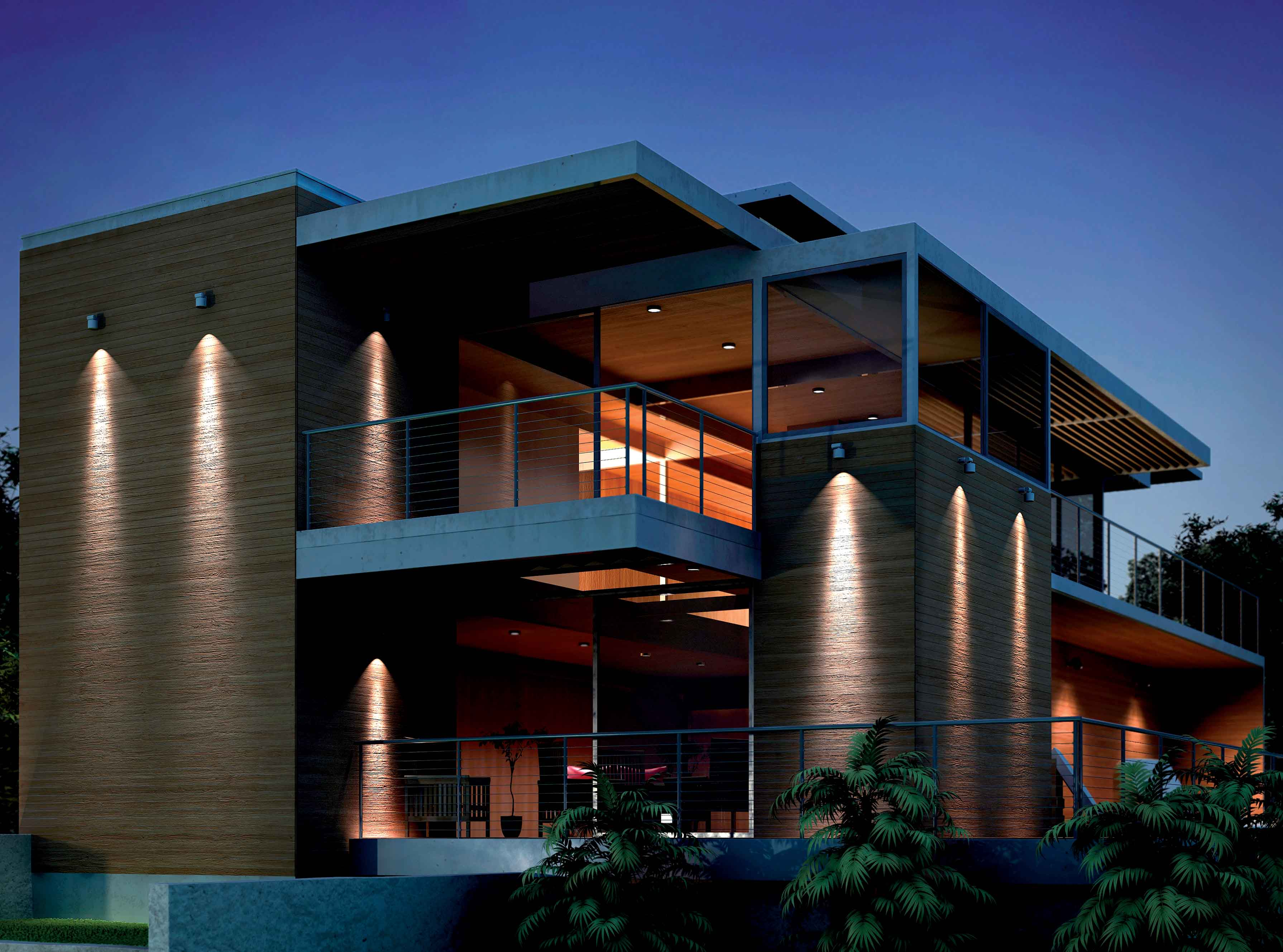 Domino led di bpt group la luce si proietta nel futuro - Illuminazione esterna casa ...