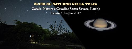 """Occhi su Saturno sotto uno tra """"I cieli più belli d'Italia"""""""
