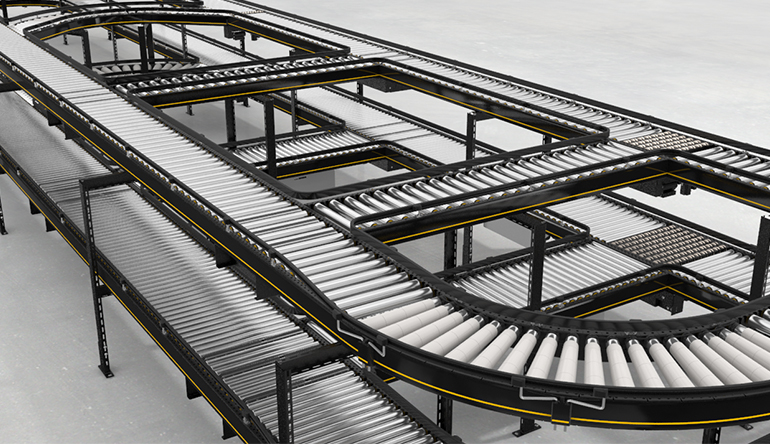 La nuova piattaforma modulare per trasportatori Interroll ottimizza i processi di consegna della cinese Liwayway
