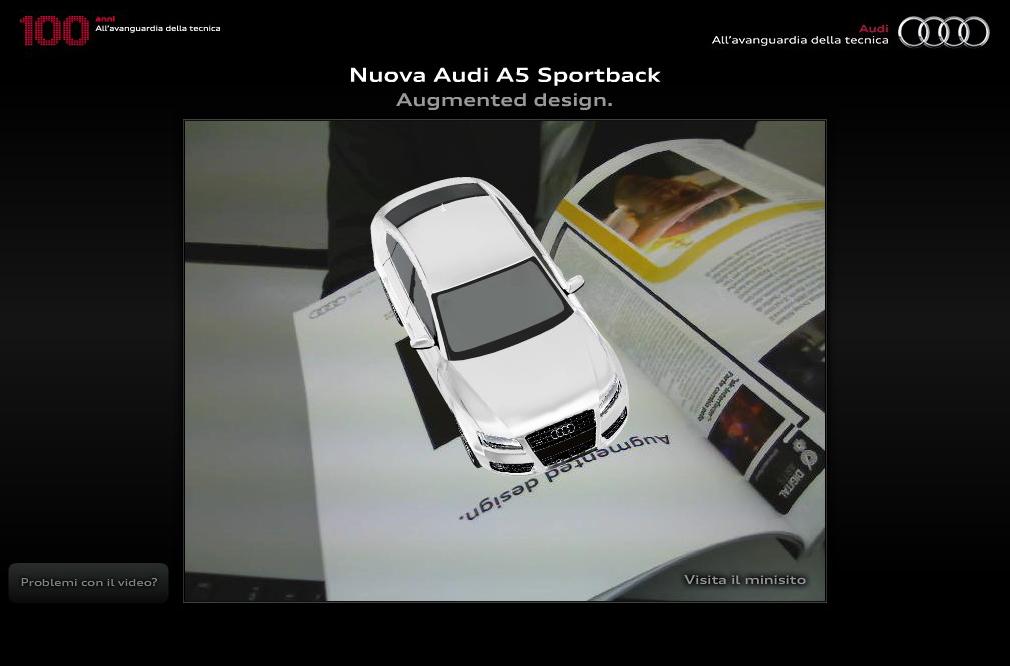 AUGMENTED DESIGN, LA TECNOLOGIA PORTA LA AUDI A5 SPORTBACK IN 3D