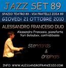 Concerto Jazz Milano - Festival Jazz Milano - 21 ottobre 2010 inaugurerà il festival il pianista e compositore Alessandro Francesio