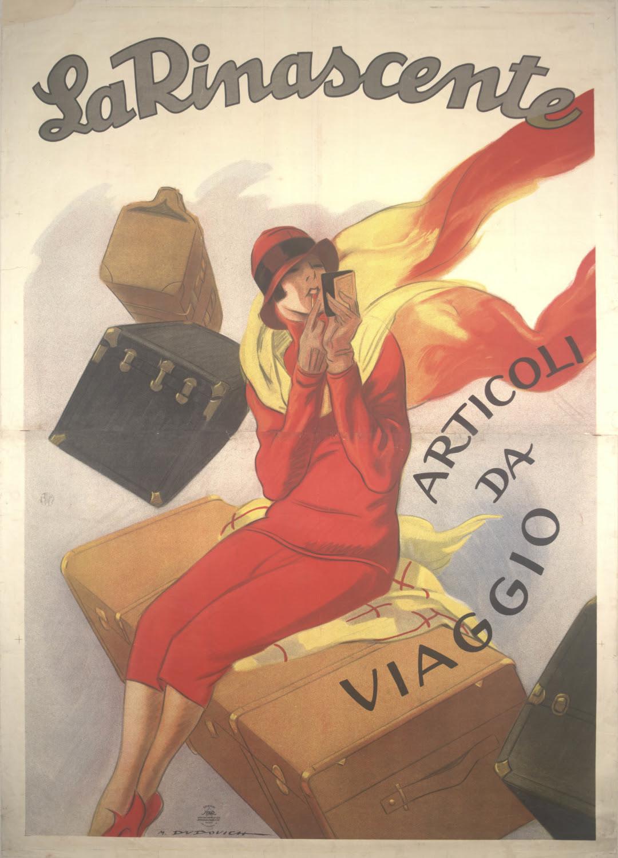 """""""La Rinascente"""" - 100 anni di creatività d'impresa attraverso la grafica. m.a.x. museo, Centro Culturale Chiasso (CH)"""