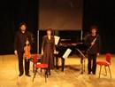 Massimo Gatti, Ilaria Costantino, Stefano Pramauro: Trio Friedrich in concerto a CECINA 31 AGOSTO 2011