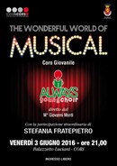 A Cori 'The Wonderful World of Musical' con il Coro Polifonico Giovanile 'Always Young Choir'