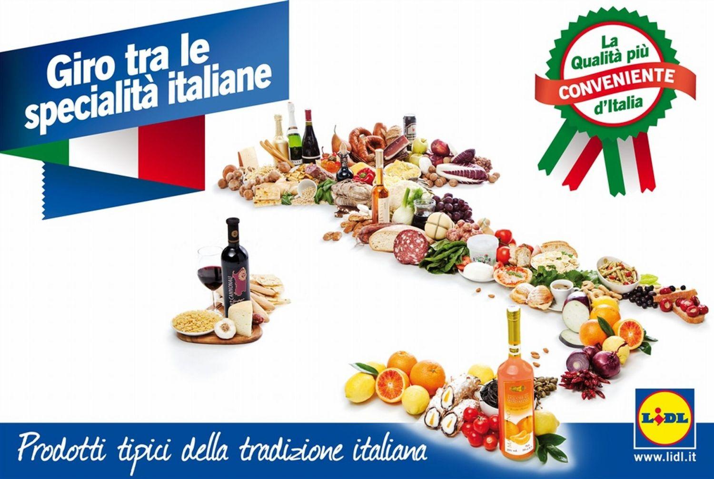 I sapori della sicilia da lidl for Prodotti tipici roma
