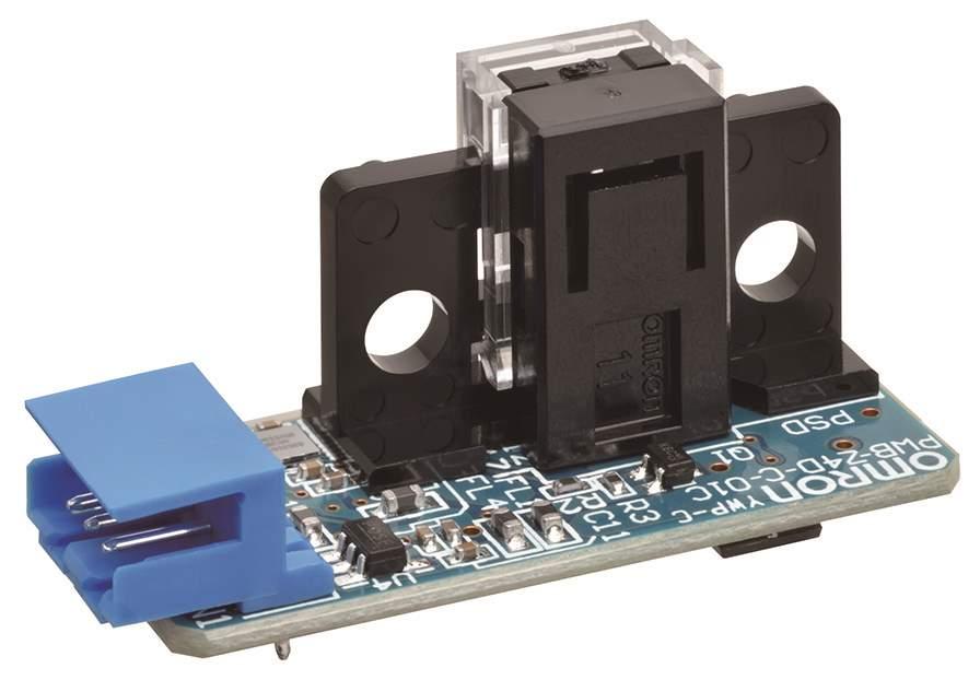 Omron: sensore miniaturizzato di spostamento con risoluzione di 10 micron