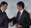 Mario Fiorillo, manager della Roma Nuoto, riceve il Collare d'Oro del Coni