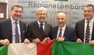 Expo: Ncd Lombardia regala una nuova bandiera al notaio Parazzini - La Repubblica