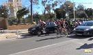 Spagna, ciclisti bloccati dal vento tempestoso: corsa annullata - La Repubblica