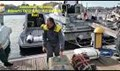 Brindisi, bloccato in mare un gommone carico di marijuana: 400 chili di droga a bordo